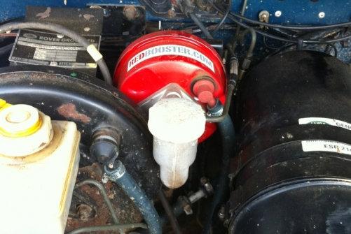 RedBooster servo clutch system