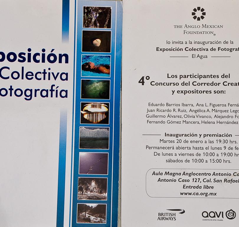 Exposición colectiva en CDMX