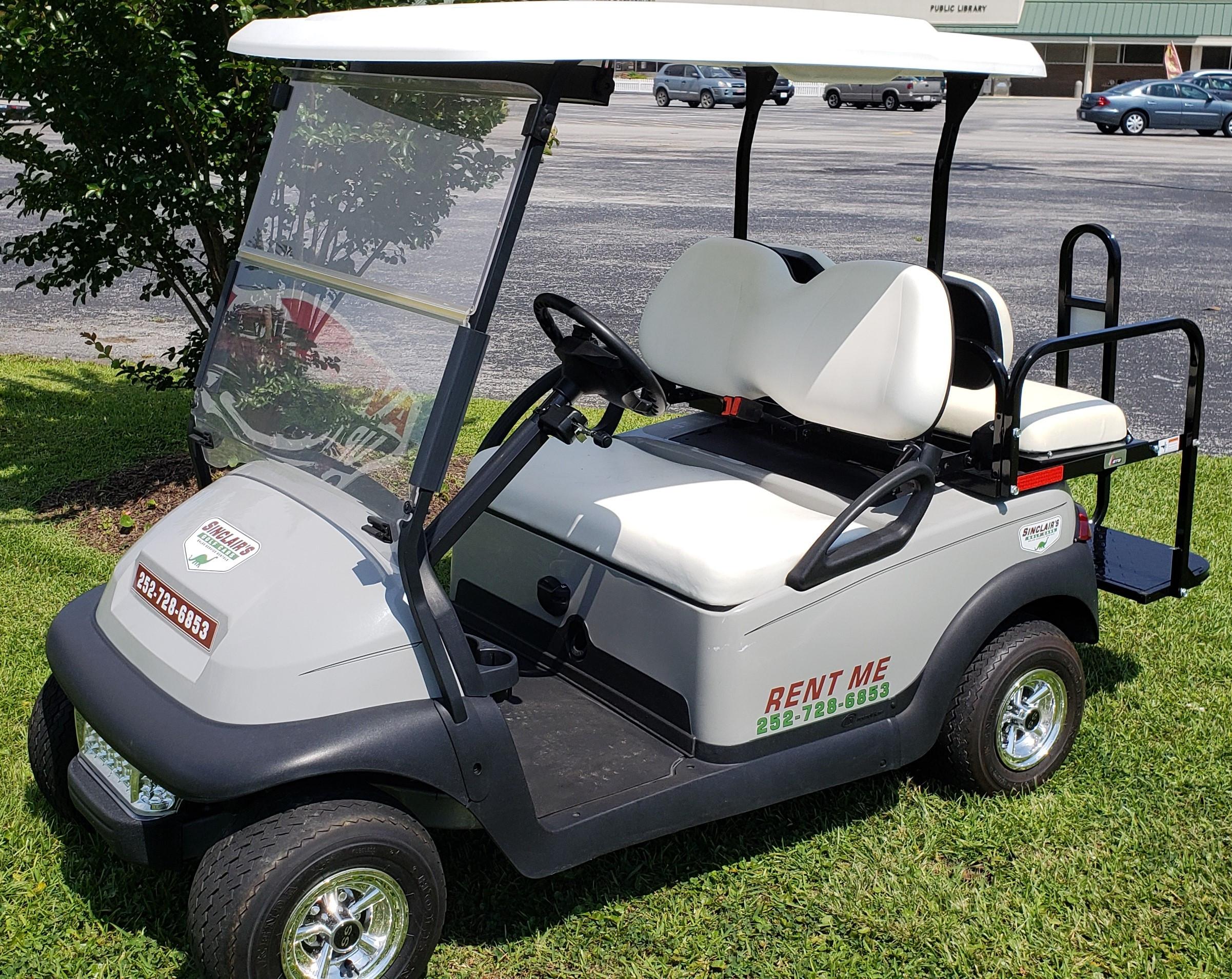 4-Passenger Golf Car Rental