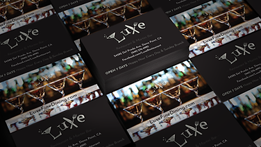 Luxe Business Card