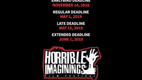 Horror Films Submission Dates