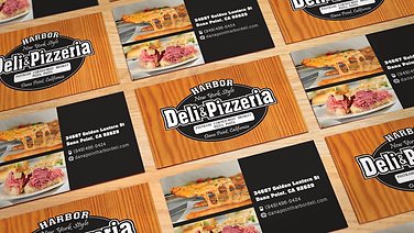 Harbor Deli Business Cards