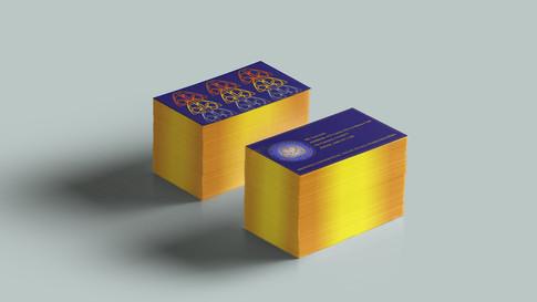 (SC)² business card mockups