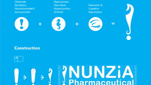 Nunzia Pharmaceutical Logo Meaning and Construction