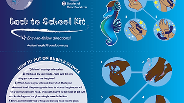 Back to School Kit Instruction Booklet (front)