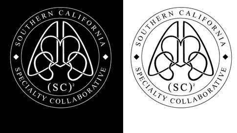 (SC)² black and white logos