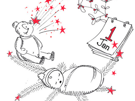 Surviving the festive season with a newborn