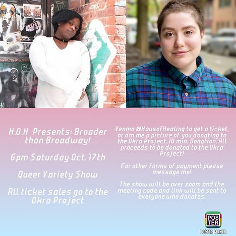 queer showcase with Sage - Broader Than