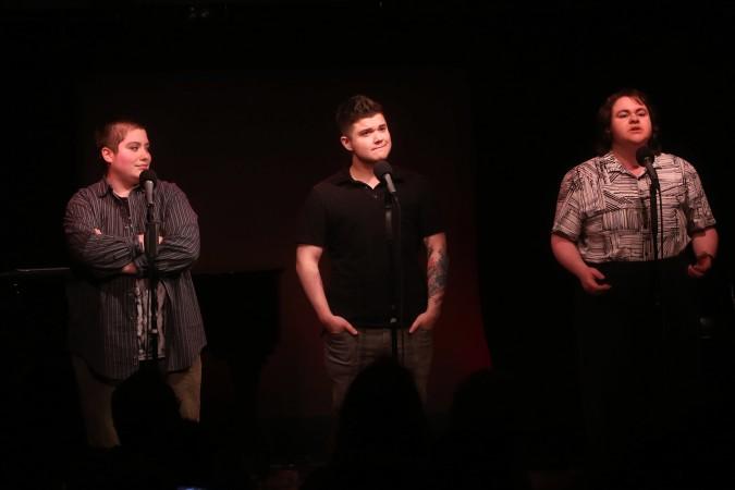 Salem Corwin, Preston Allen, and Teagan Kazia