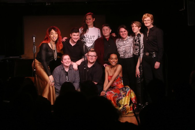 Group Photo! Trans Voices Cabaret