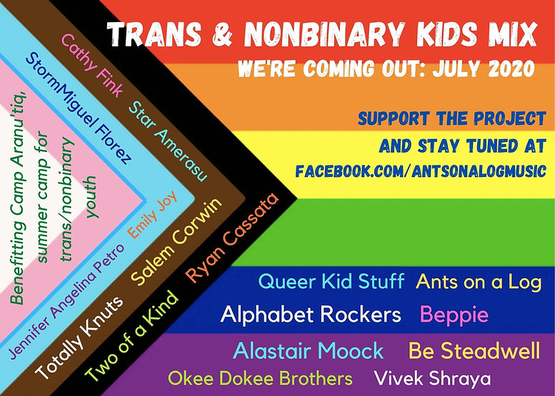 Ants on a Log - trans kids mix (promo po