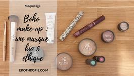 COSMETIQUE BIO : Boho make up, une marque de maquillage engagée