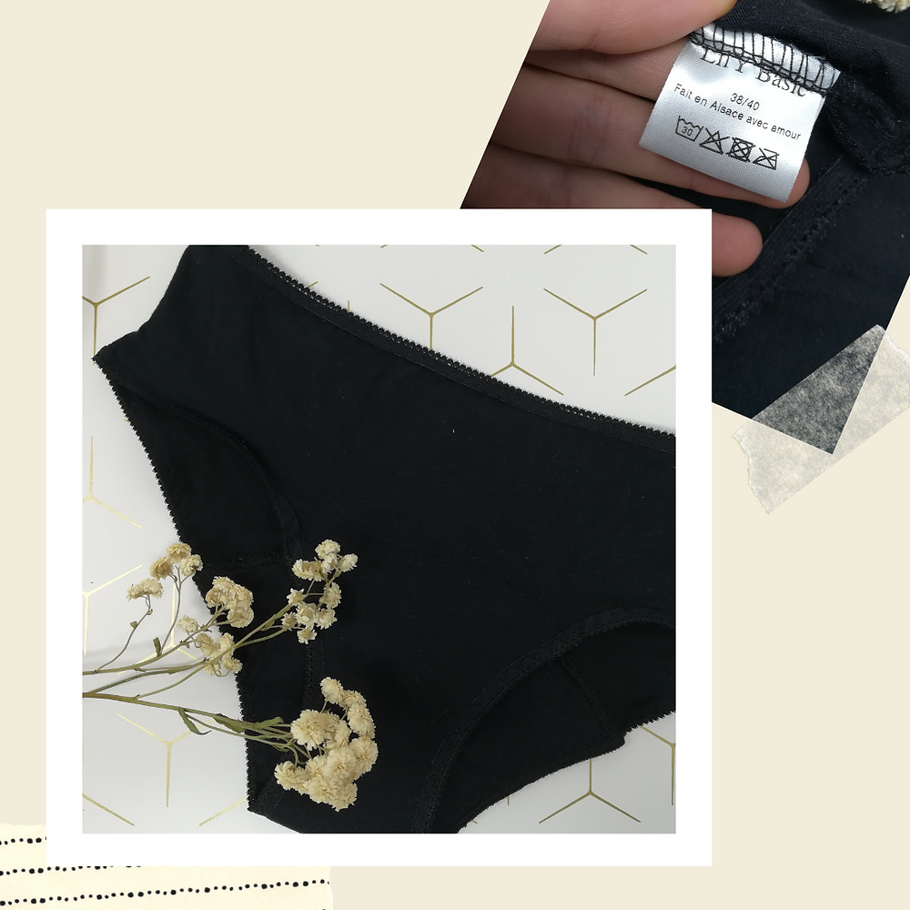 culottes menstruelles fabriquées en France