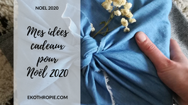 NOËL 2020 : Mes idées de cadeaux Green