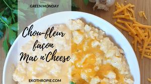 Chou-fleur façon Mac n'Cheese