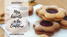 CUISINE BIO : Mes biscuits à la confiture