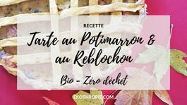 GREEN MONDAY : Tarte au potimarron et au Reblochon
