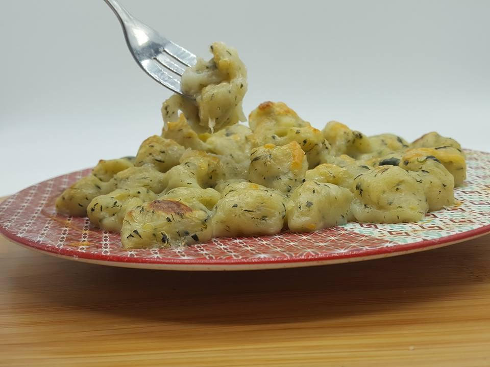 gnocchies aux épinard