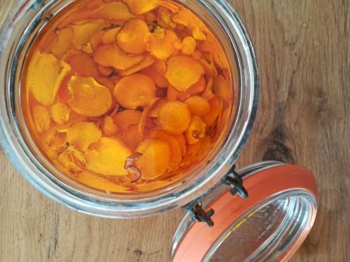 mécérat huileux de carottes