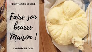recette du beurre maison