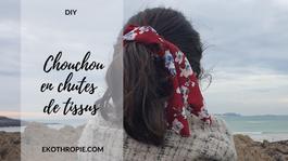 DIY : Comment faire un chouchou avec des chutes de tissus