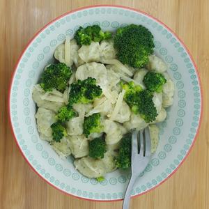 gnocchies au brocolis
