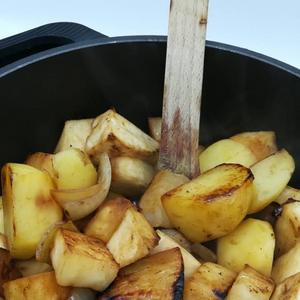 soupe céleri et pommes