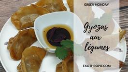 GREEN MONDAY : Gyozas aux légumes