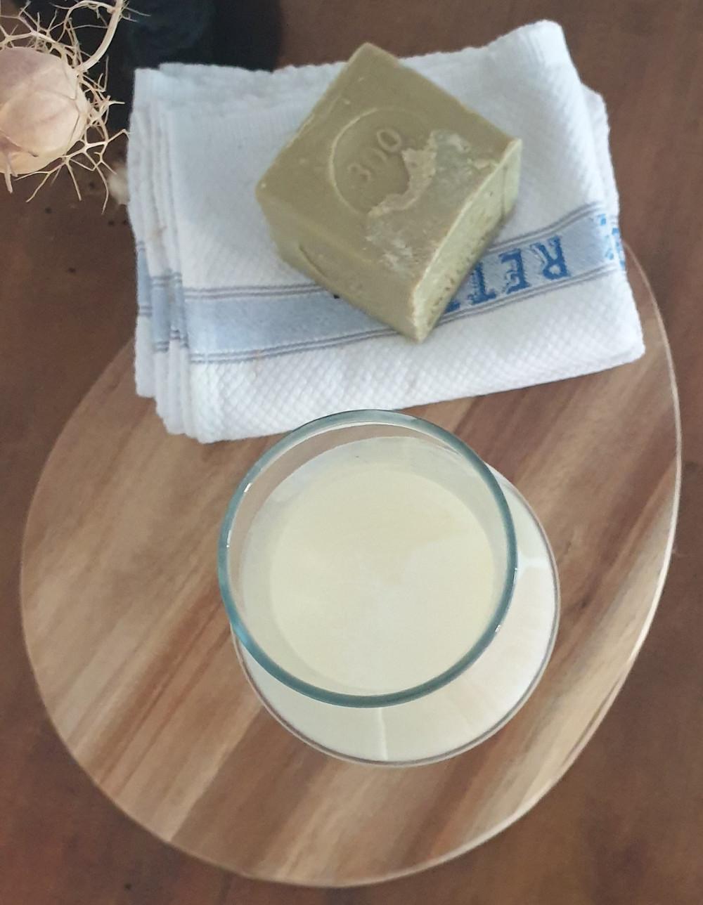 recette lessive au savon de marseille