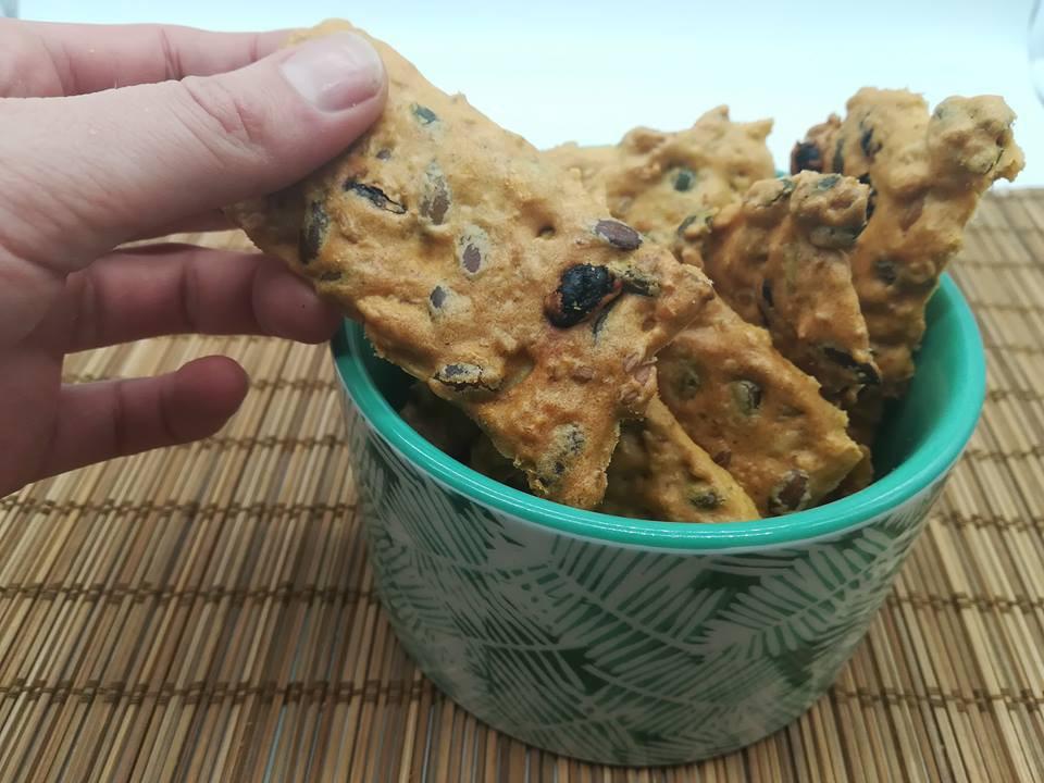 recettes crackers aux graines