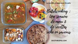 Batch-cooking : la semaine du goût aux saveurs des épices Cook !