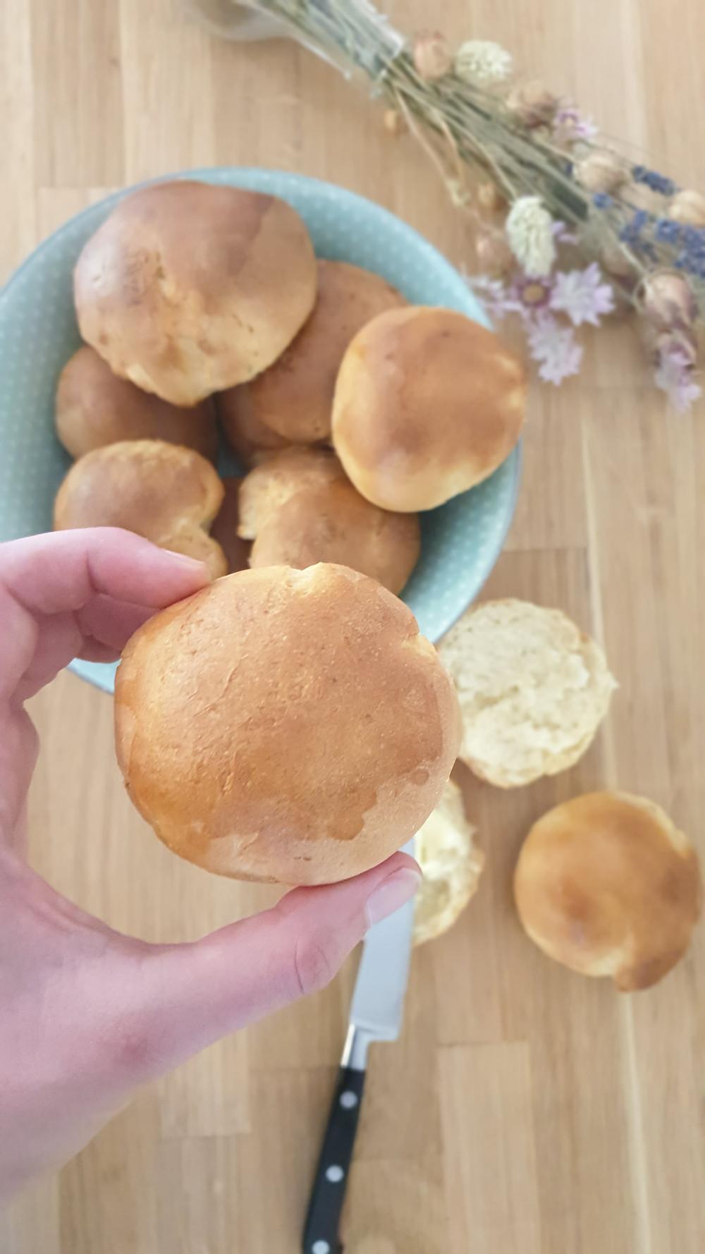 recette de pain au lait facile