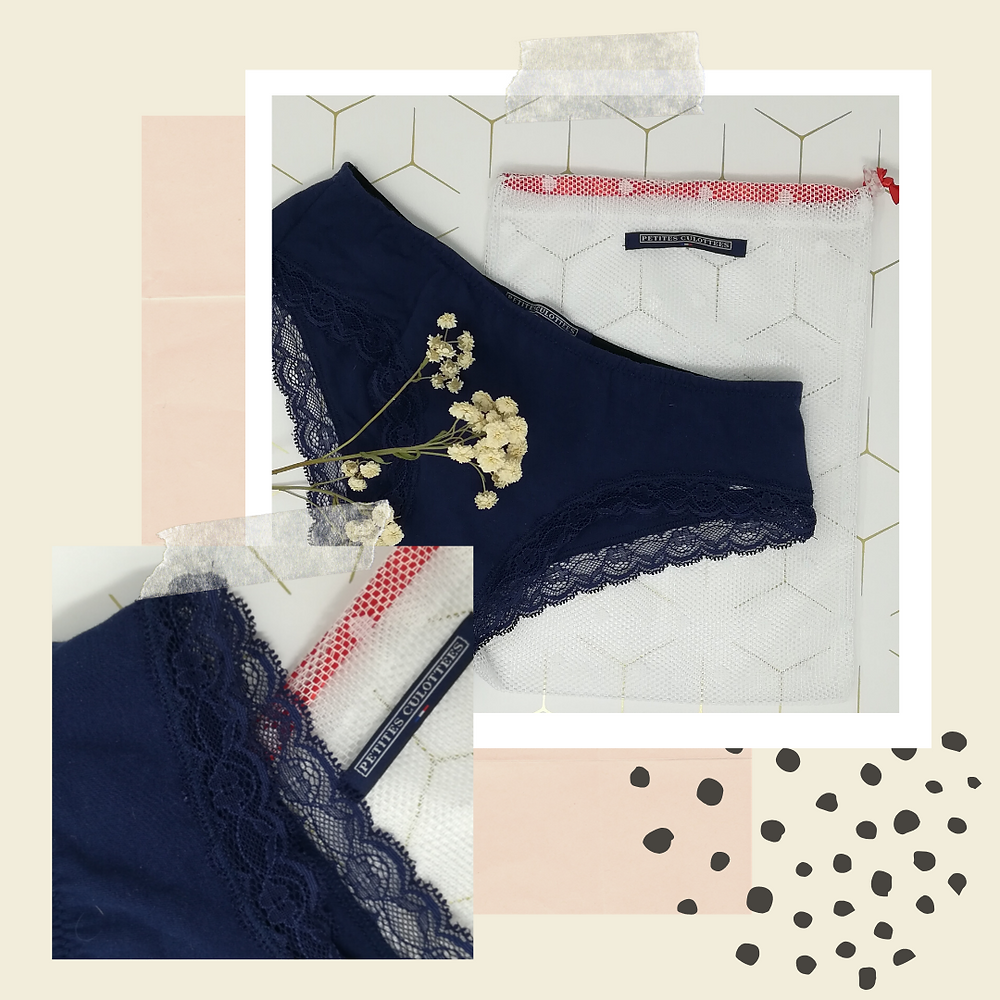 Culottes Menstruelles made in france  PETITES CULOTTEES