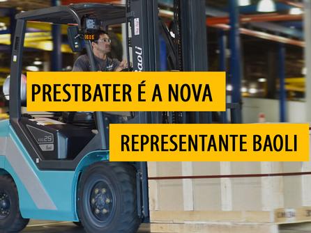 PrestBater é a nova representante Baoli