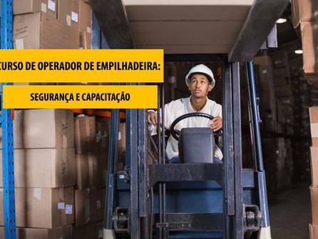 Curso de operador de empilhadeiras: segurança e capacitação