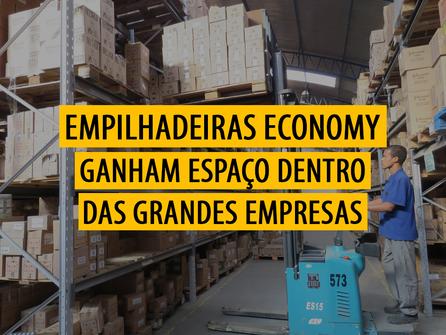 Empilhadeiras Economy ganham espaço dentro das grandes empresas