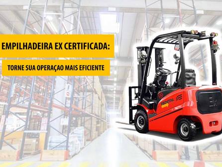 Entenda como as empilhadeiras EX podem tornar sua operação logística mais segura     