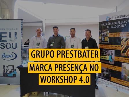 Grupo PrestBater marca presença no Workshop Compras 4.0 & Sua Carreira
