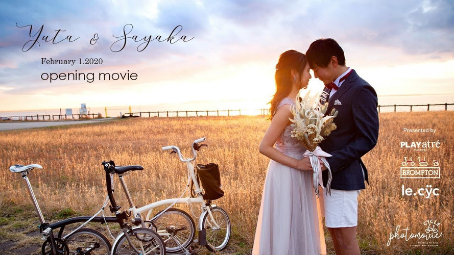 Opening PV [20200201Wedding]/Cycle photomovie (Drone Plan)