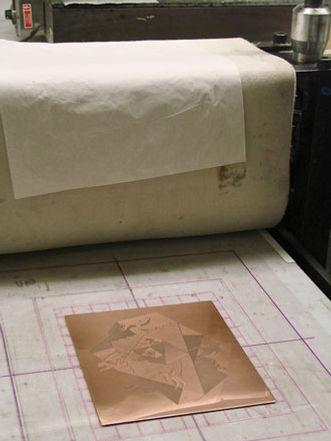 Printmaking in New York at Manahttan Graphics Center