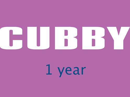 CUBBY, 1 Year