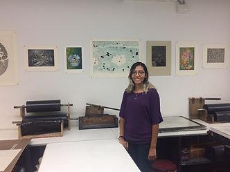 Printmaking internship in New York