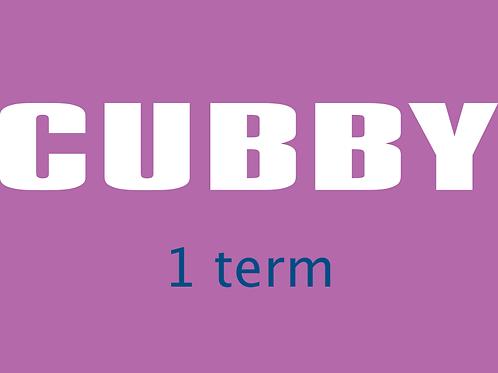 CUBBY,1Term