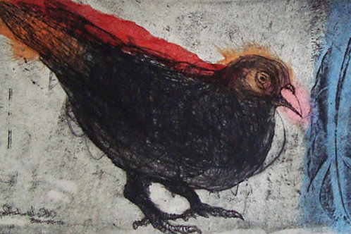 CHINE COLLE and DRYPOINT