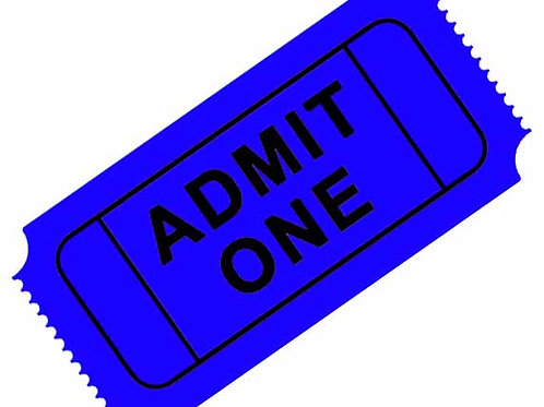 1 Regular Admission Ticket