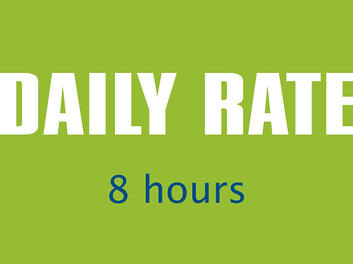 Daily Rate — 8 hours