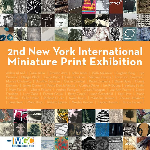 CATALOG: 2nd NY International Miniature Print Exhibition / Internat'l deliver