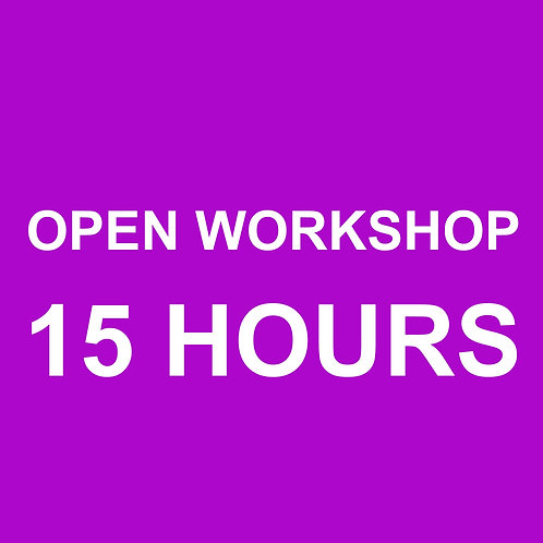 Open Workshop (15 Hours)