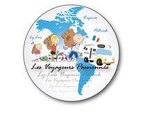 voyageurs passionnés: le logo