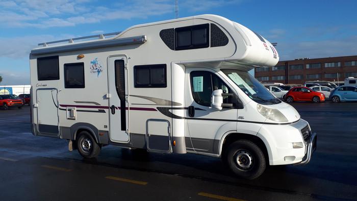 Le camping-car est de retour en France.
